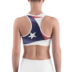 47c2b343c0 All-over-print Sports bra - Patriotic