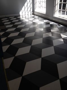 Maple - Parquet Floor - Rhombus Design -Providence, Rhode Island