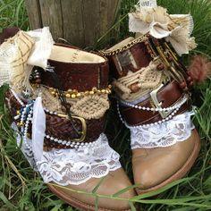 gipsy shoes diy - Google Search