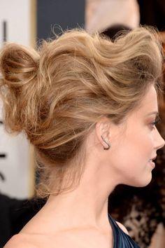 Best Accessories from the 2014 Golden Globes: Amber Heard's Graziela Gems ear cuffs