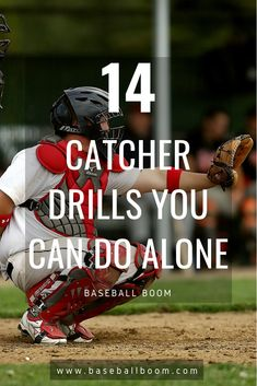 Having quick reflexes and throwing accurately are key to being a good or even great catcher. Increasing agility while wearing up to ten pou… Softball Workouts, Softball Drills, Softball Coach, Fastpitch Softball, Softball Players, Softball Mom, Softball Pics, Baseball Girlfriend, Baseball Boys