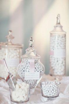 All white #wedding decor ideas. To see more: www.modwedding.com