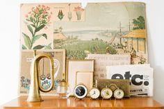Gold : Vintage by Colour - Hilda Grahnat