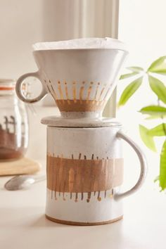 Ceramic Pour Over Coffee Maker - Urban Outfitters