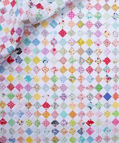 "[lengthy blog post warning]  In my ""studio"" this week it has been all about small patchwork piecing,..."