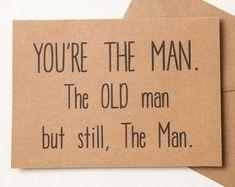 44 Ideas Birthday Card For Dad Quotes Happy Birthday Presents For Dad, 70th Birthday Card, Birthday Card Sayings, Happy Birthday Dad, Happy Birthday Quotes, Birthday Cards For Men, Funny Birthday Cards, Men Birthday, Humor Birthday
