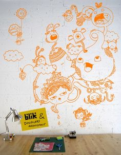 Showcase: Doodle Our Wall - Doodlers Anonymous