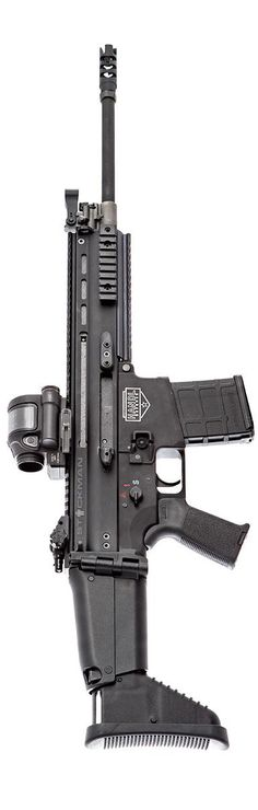 FN Herstal with Handl Defense lower, Magpul components, and Trijicon SRS. By Stickman.
