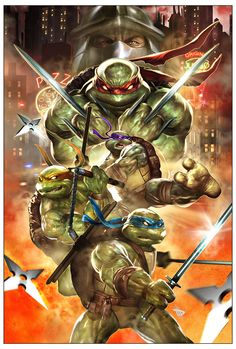 TMNT by Dave Wilkins.