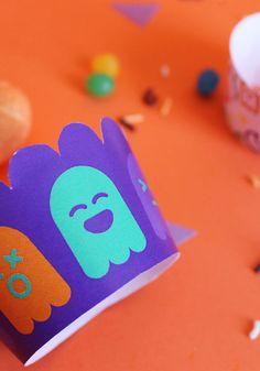 KIT porta cupcake di Halloween