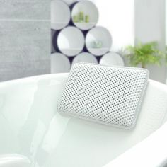 Halovie Bath Pillow Bathtub Spa Pillow Waterproof non slip with 8 Suction Cup PVC Soft and Comfortable For Head and Neck x Mini Bathtub, Most Comfortable Pillow, Mousse, Bathtub Pillow, Cushions For Sale, Spa, Luxury Cushions, Relaxing Bath, How To Make Pillows