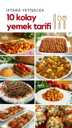 İftara Yetişecek Kolay Yemek Tarifleri Nefis Yemek Tarifleri Videolu Tarif h… – Vegan yemek tarifleri – Las recetas más prácticas y fáciles Iftar, Healthy Eating Tips, Healthy Recipes, Easy Recipes, Delicious Recipes, Turkish Recipes, Food Menu, Easy Meals, Food And Drink