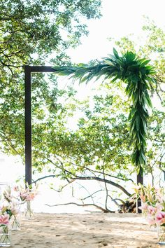 Costa Rica Destination Wedding -- See the wedding on SMP's Little Black Book Blog: http://www.StyleMePretty.com/little-black-book-blog/2014/02/13/costa-rica-destination-wedding-2/ A Brit & A Blonde