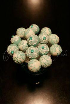 images of floral cake pops | Floral cake pops