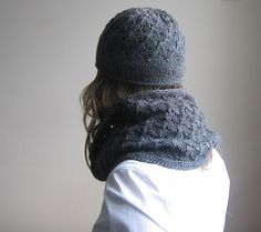 Milanese Lace Topper - Hat and matching Loop - tante ehm