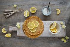 Classic lemon & sugar pancakes Borrowed-light.com