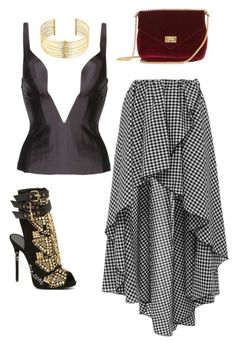 """Untitled #193"" by kimdillinger on Polyvore featuring Ender Legard, Caroline Constas and REMINISCENCE"