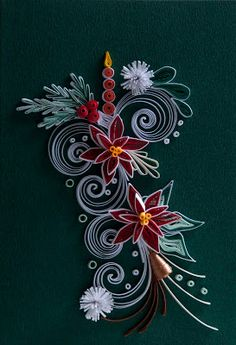 Neli Quilling Art: Quilling Christmas 11