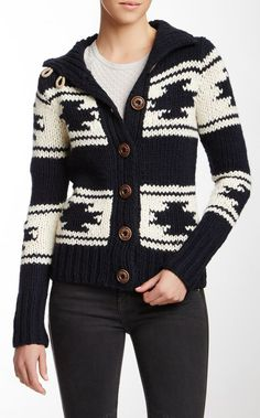 I like the style not the pattern Totem Knitted Sweater