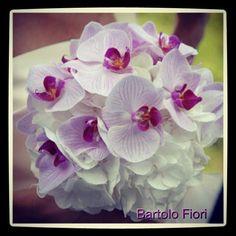 Ortensie e Orchidee (il mio terzo bouquet)
