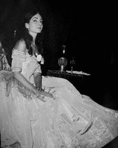 Callas as Violetta in La Traviata. (Dallas 1958)