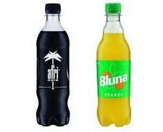 Afri Cola and     Bluna