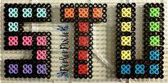 Tetris Letters - S, T, U by PerlerPixie.deviantart.com on @DeviantArt