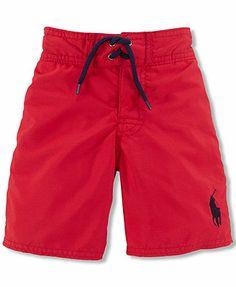 Ralph Lauren Little Boys' Swim Trunks