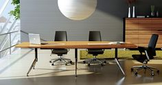Visit iOffice Furniture's eStore - iOfficeFurniture.com.au - offering the latest styles of boardroom tables.The balance between design, usability and built to perfection, this boardroom table will fit at least 10 people subject to style of seating used. Application: Conference or Meeting rooms