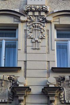 Edificio de viviendas. Dapontegasse, 7 Viena. Max Fabiani