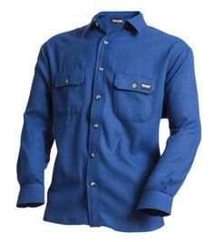 01f5b69503f TECGEN SELECT Flame Resistant 5.5 oz Dress Shirt - Royal Blue
