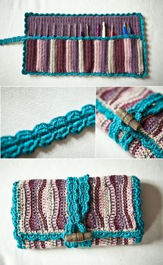 Crochet Hook Case Free Pattern