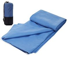 Syncyoo Microfiber Hot Yoga Sports Towel for BathBeachTravelSwimming Towel -- Check this awesome product by going to the link at the image.