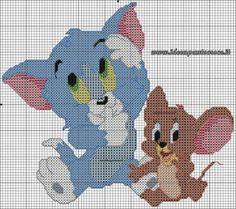 Charms en point de croisement: Tom et Jerry