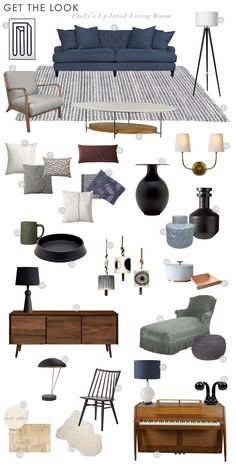 How To Get The look Of Emily Henderson's Modern Traditional Living Room