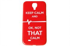 Keep Calm and OK Not That Calm Phone Case – iCandy-Products.com