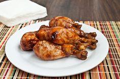 Easy Crock Pot BBQ Chicken Drumsticks (minus the skin though, blech)