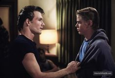 The Outsiders - Patrick Swayze Photo - Fanpop The Outsiders Darry, The Outsiders 1983, It Movie Cast, Movie Tv, 80s Movies, Never Let It Go, Ralph Macchio, Francis Ford Coppola, Patrick Swayze