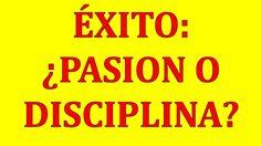 Exito Es Pasion O Disciplina | Yokoi Kenji