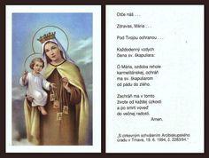 Novéna k Panne Márii Škapuliarskej Amen, Baseball Cards, Books, Libros, Book, Book Illustrations, Artist, Libri