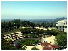 Getty Museum Gardens... WONDERFUL museum... no ropes u get up close and personal to the art and NO TOUCHING please!! awesome!  :o)