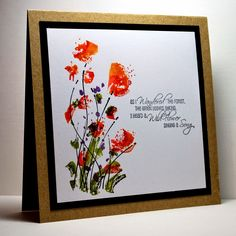 Eileen's Crafty Zone: Rubbernecker Stamps - 'Flowers in the Breeze' Stam...