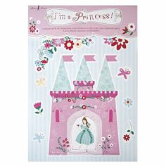Take a look at this Pink I'm a Princess Wall Sticker Set by Meri Meri on today! Princess Party Supplies, Princess Theme Party, Im A Princess, Princess Birthday, 3rd Birthday, Birthday Ideas, Happy Birthday, Baby Decor, Kids Decor