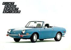 Fiat 850 Sport Spider US (Bertone), 1971