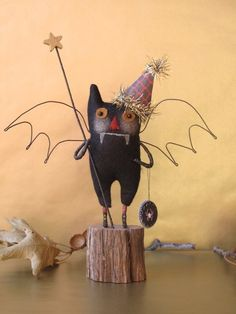 primitive whimsies to die for over at the chesick company on etsy: http://www.etsy.com/listing/64106322/batty-bat-boy-ready-to-ship-by