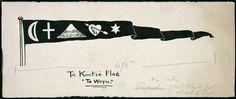 These old Maori Ringatu flags.