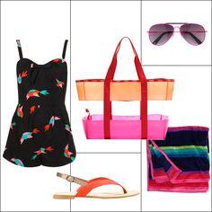 Pack Your Beach Bags for Under $100 - Summer Beach Bag Essentials - Harper's BAZAAR