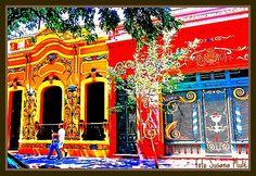 Art in Buenos Aires. Filete porteño en el Abasto by susanamule.