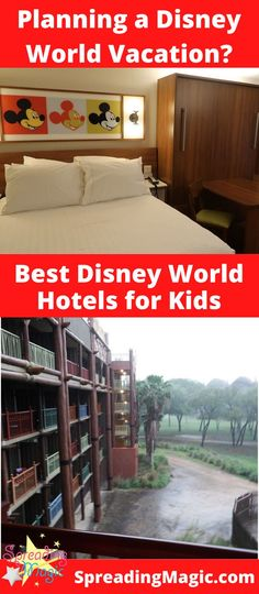 The Walt Disney World Resort hotel has over twenty properties that you can choose from. With so many choices, how do you choose the best fit for your family? We are recommending the best Disney resorts for kids and families based on interests and plans. #Disney #DisneyWorld #DisneyVacation #DisneyHotel #DisneyResort #DisneyHotels #DisneyResorts #FamilyTravel #FamilyVacation #TravelwithKids #Orlando #Florida Disney World Vacation Planning, Disney World Hotels, Disney Destinations, Best Resorts, Disney World Resorts, Disney Vacations, Hotels And Resorts, Resorts For Kids, Hotels For Kids