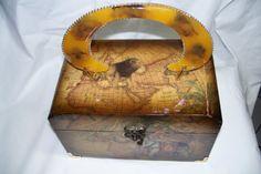 Wooden box purse